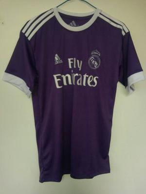 Camisa Oficial Del Real Madrid  Morada Para Caballeros