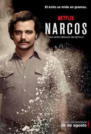 Narcos Primera Temporada En Blu Ray