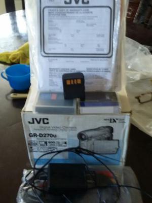 Vídeo Cámara Digital Jvc Modelo Gr-d270u