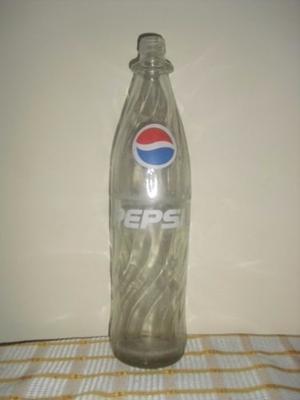 Botellas De Vidrio. 1l Refresco De Tapa De Rosca.