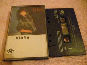 Cassette / Kiara / Kiara / Pop Rock / Nacional