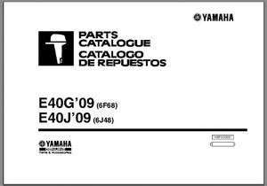 Catalogo De Partes Motores Fuera De Borda Yamaha