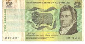 En venta billete antiguo Australiano