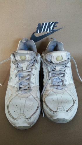 Nike Zapatos De Tennis Blanco Talla 37 Originales. 25cm