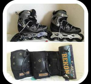 Patines Rollerblade Con Kit