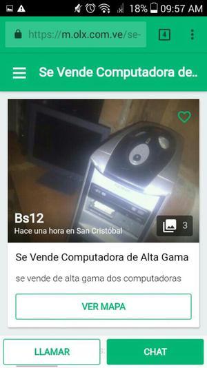 Se Vende Dos Computadoras