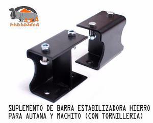 Suplemento De Barra Estabilizadora Autana Y Machito