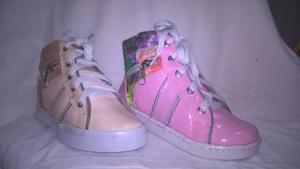 Zapato Botin Bota Moda Niña Colombiana. Super Precio