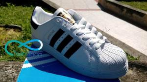 Zapatos Adidas Super Star Unicolor  Importados
