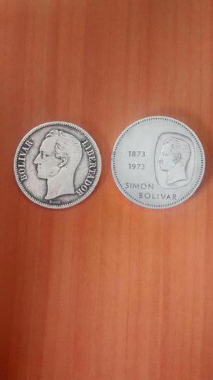 se vende DOBLON de plata y FUERTE de plata.