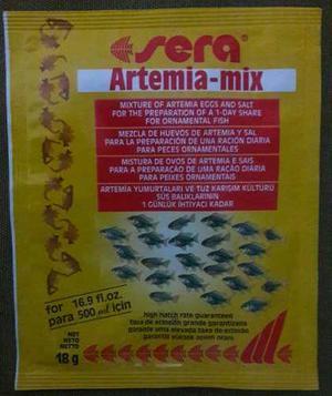 Artemia para peces alevines camarones posot class for Artemia para peces