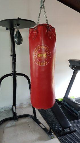 Estructura Con Pera Y Saco De Boxeo