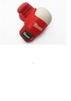 Guante De Boxeo Cuero Sintetico Red 12oz