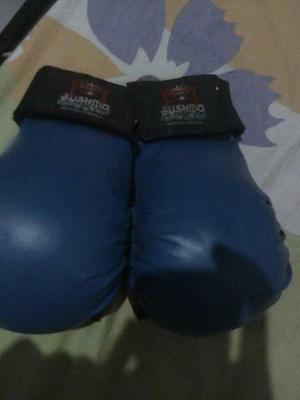 Guantes De Karate Color Azul
