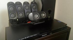 Home Theater Logitech Y Blue Ray Panasonic