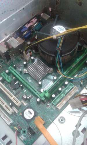 Combo Tarjeta Madre Intel Ddr Dual Core 2.7 1gbram Ddr2