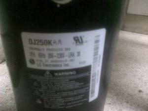 Compresor Rotativo Lg  Btu, 220v