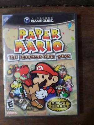 Juego De Paper Mario En Game Cube