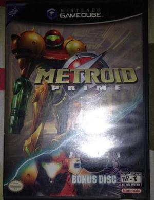Juego Metroid Prime Bonus Disc Gamecube