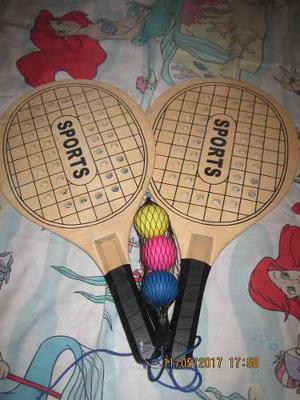 Raquetas Tenis De Playa Usadas Casi Nuevas