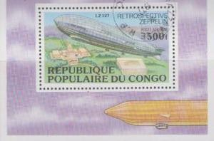 Republica Pop. Del Congo  Historia Del Zeppelin
