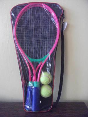 Set Raquetas De Tennis Con Pelotas, Juego, Tenis