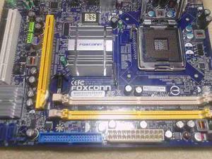 Tarjeta Madre Foxconn G31mv-k Ddr2 Para Repuesto O Reparar