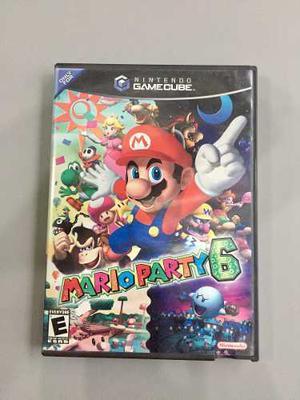 Vendo O Cambio Mario Party 6 Como Nuevo