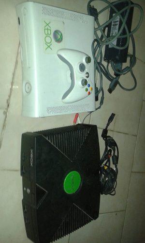Xbox 360 Con Control !! Y Un Xbox Clasico Para Reparar