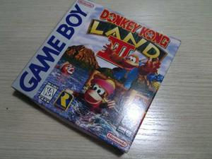 Donkey Kong Land 3 Para Gameboy, Original En Caja