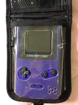 Game Boy Color Original Con Sus Accesorios