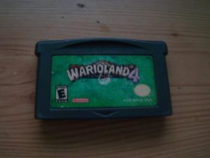 Juego De Game Boy Advance Original Warioland 4