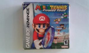 Juego De Game Boy Advance (mario Tennis Power Tour).