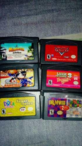 Juego De Game Boy Y Nintendo Ds Lite
