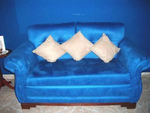 Juego De Muebles Para Sala Sofa Y Dos Poltronas