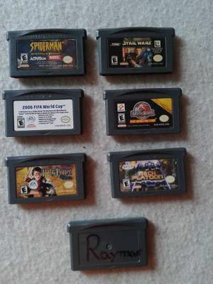 Lote De 7 Juegos Game Boy Advance Originales¡¡