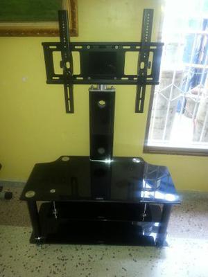 Mueble Para Tv En Vidrio Templado Hasta 50 Pulgadas