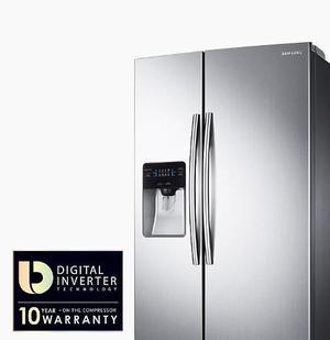 Nueva Nevera Samsung 2 Puertas 25 Pies Modelo Rs25jsp -