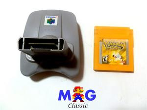 Pikachu Edcion Especial Original Game Boy N 64