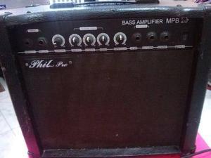 Amplificador De Bajo Phil Pro 30watts