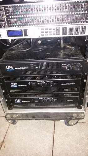 Amplificadores Qsc Originales
