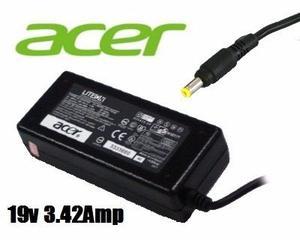 Cargador Laptop Acer Aspire 19v 3.42amp Travelmate Extensa