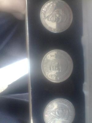 Coleccion De Monedas Antiguas 2 Caciques Y Diego De Losada