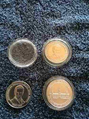 Moneda Bicentenario Del Nacimiento Jose M Vargas