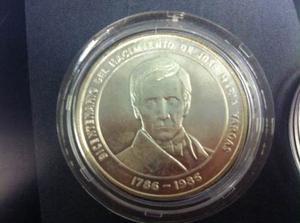 Moneda Conmemorativa De Bs.100 Jose Maria V