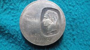 Moneda De Plata (ley 900) Centenario Efigie Simon Bolivar