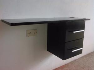Mueble Flotante Minimista 2 Gavetas Pintado