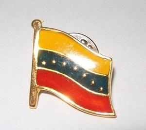 Prendedor De Bandera De Venezuela