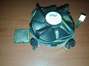 Procesador Intel Dual Core Con Fan Cooler
