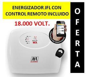 Energizador De Cerco Electrico v Jfl Control Remoto